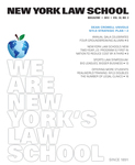 New York Law School Magazine, Vol. 32, No. 2
