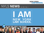 New York Law School Magazine, Vol. 36, No. 1 by New York Law School