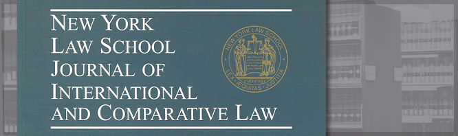 NYLS Journal of International and Comparative Law