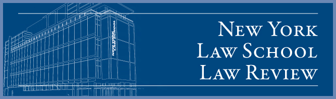 New York Law School Law Review
