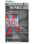 Citizen Capitalism: How a Universal Fund Can Provide Influence and Income to All (Tamara Belinfanti)