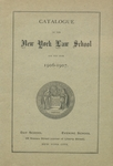 The Law School's Second Home at 35 Nassau Street, 1898-1908