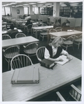 A Reading Room in the Mendik Library at 240 Church Street, circa 1990s by New York Law School