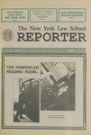 The cover story in the March 17, 1992 issue of The New York Law School Reporter.