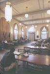 Students Studying in the Stiefel Room, circa 2003