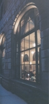 A View into the Stiefel Room From Windows Along Church Street Shows Students Studying, circa 2004