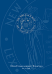 2008 Commencement Program by New York Law School