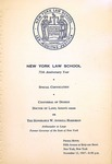 1967 Commencement Program (special Convocation)