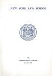 1969 Commencement Program