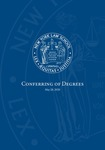 2020 Conferring of Degrees Program