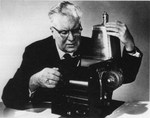 Chester Carlson, Class of 1938, Inventor of Xerography. by New York Law School