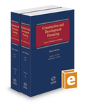 Construction and Development Financing v1 & v2 by Marshall E. Tracht and Alvin L. Arnold