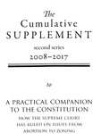 A Practical Companion to the Constitution: The Cumulative Supplement 2nd Series 2008-2017 by Jethro K. Lieberman