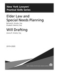 Elder Law and Special Needs Planning