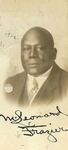Moses Leonard Frazier, Class of 1899, Believed to Have Been New York Law School's First African-American Graduate