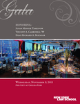 2011 Gala Program by New York Law School