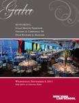 2011 Gala Program