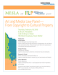 Art and Media Law Panel - From Copyright to Cultural Property by New York Law School