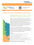 Open Source Database Licensing