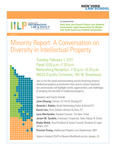 Minority Report: A Conversation on Diversity in Intellectual Property by New York Law School