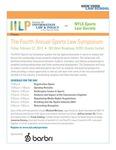 The Fourth Annual Sports Law Symposium