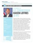 AN ADDRESS BY U.S. CONGRESSMAN HAKEEM JEFFRIES (D-NY)