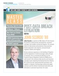 Masterclass: POST-DATA BREACH LITIGATION WITH JOHN SCORDO '88 by New York Law School