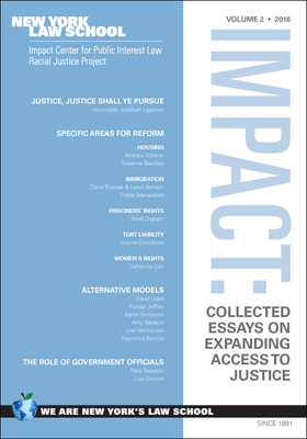 impact center for public interest law   academic centers and        impact  collected essays on expanding access to justice