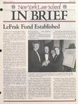 In Brief, vol 9, no. 3, Winter 1987 by New York Law School