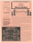 Library infosheet, vol. 11, no. 1, 2000 by Mendik Library