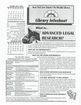 Library infosheet, vol. 8, no. 4, 1998 by Mendik Library