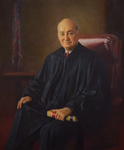 Portrait of Hon. Roger J. Miner '56, a gift of his law clerks to New York Law School, unveiled on October 1, 2003 by New York Law School