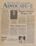 The New York Law School Advocate, February 11, 1983, vol 1, no. 5