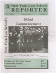 New York Law School Reporter v. 11, no. 9, September 1994