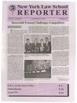 New York Law School Reporter v. 11, no. 10, October 1994