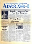The New York Law School Advocate, September 1982