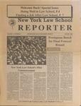 New York Law School Reporter, v. 11, no. 2, August 1993
