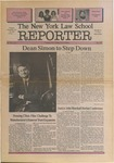 The New York Law School Reporter, vol 8, no. 2, May 1991