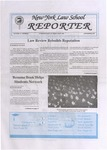 New York Law School Reporter, vol 11, no. 1, September, 1995