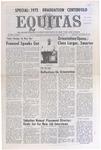 Equitas, vol IV, no. 1, Thursday, September 28, 1972