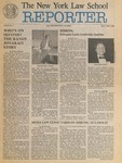 The New York Law School Reporter, vol IV, no. 1, October/November 1986