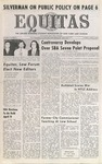 Equitas, vol II, no. 5, Tuesday, April 6, 1971