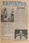 The New York Law School Reporter, vol 2, no. 1, September 25, 1984