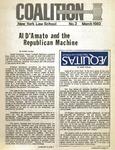 Coaltion, no. 2, March, 1982