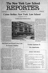 The New York Law School Reporter, vol VII, issue VI, October 1989