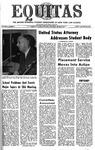 Equitas, vol II, no. 2, Friday, October 30, 1970