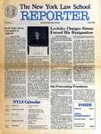 The New York Law School Reporter, vol III, no. 5, May 1986