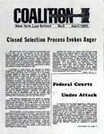 Coalition, No. 3, April 1982