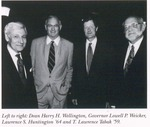 Dwight and Harlan Fellowships and the 21st Century Society Annual Recognition Dinner by New York Law School