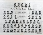 New York Law School Class of 1972 (Evening Division) by New York Law School